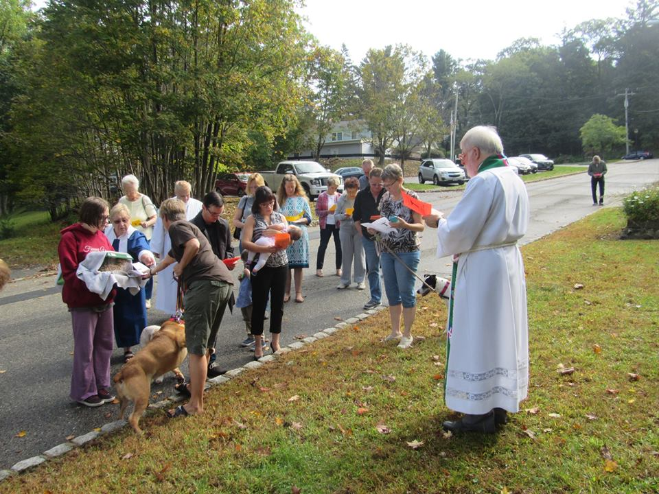 Blessing of the Animals 2018   St  Peter's Episcopal Church